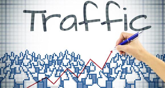 traffic from Facebook