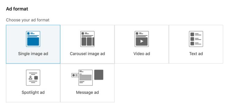 Sponsorlu Reklam Türünü Seçin