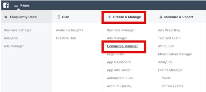 Facebook Business Manager İçinde Ticaret Yöneticisini Kurun